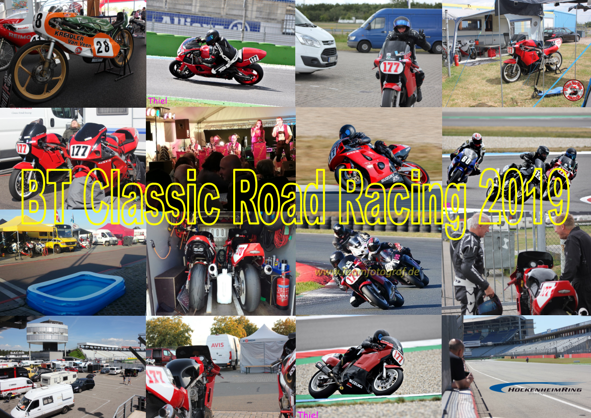 BT Classic Road Racing sæsonen 2019